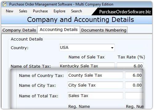 Purchase Order for Multi User