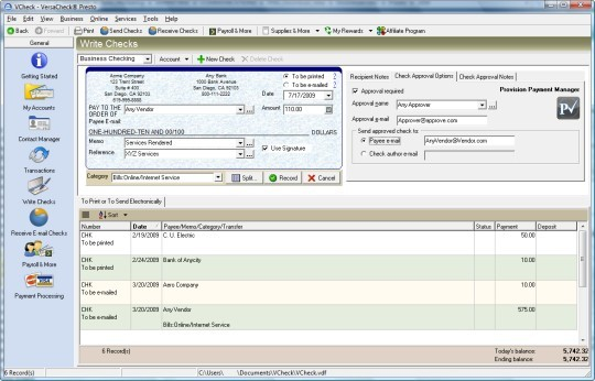 versacheck platinum 2007 download with keygen