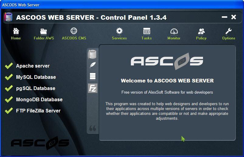 ASCOOS Web Server