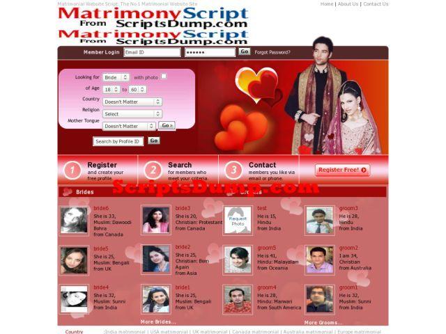 Matrimony Script Shaddi Clone