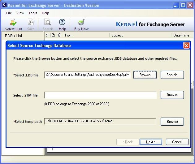 Eseutil Exchange 2010