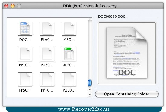 Recover File Mac Software
