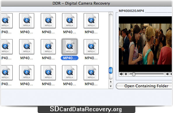 Mac Camera Data Recovery