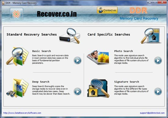 Recover Memory Card Data