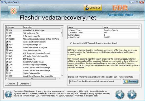Flash Drive Files Recovery