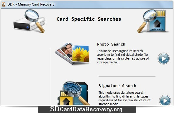 Miniature Card Recovery