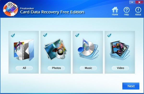 Free Card Data Recovery