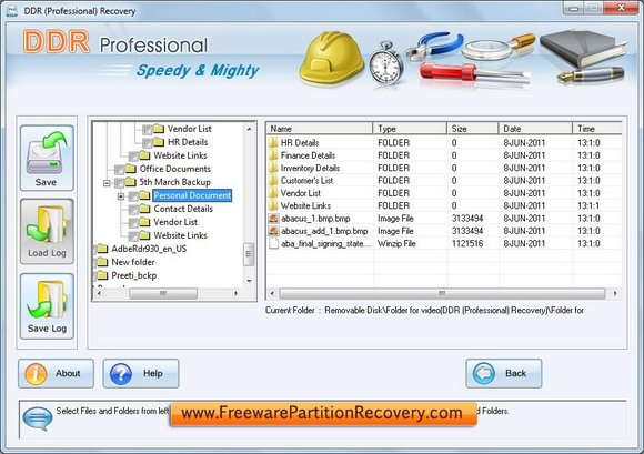 Freeware Partition Recovery