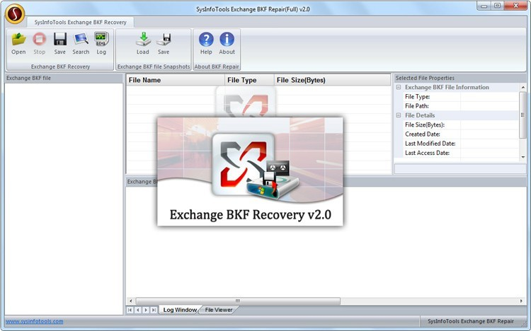 MS Exchange BKF Extractor