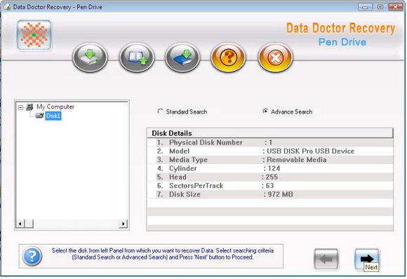 Data Doctor Recovery Thumb Drive