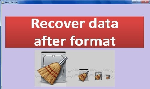 Recover Data After Format