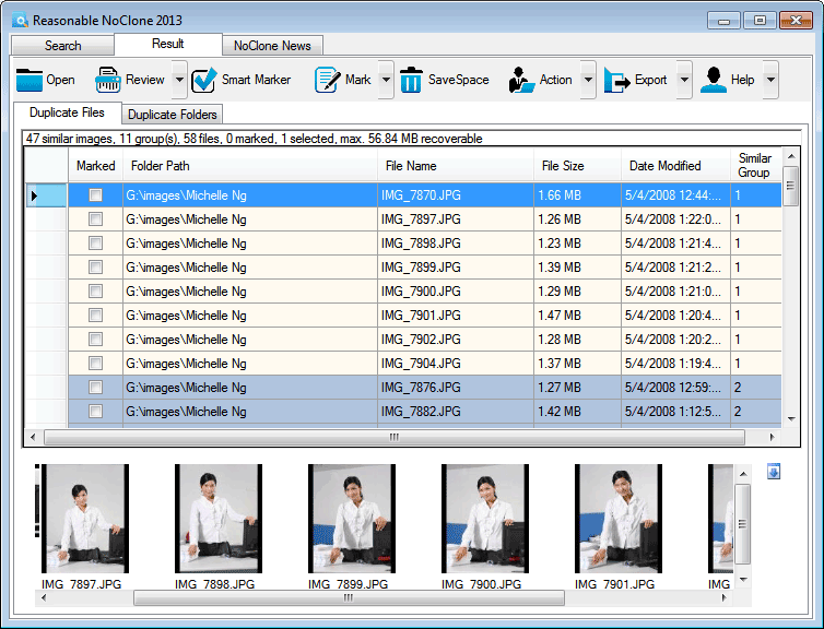 NoClone 2013 Free- Duplicate File Finder