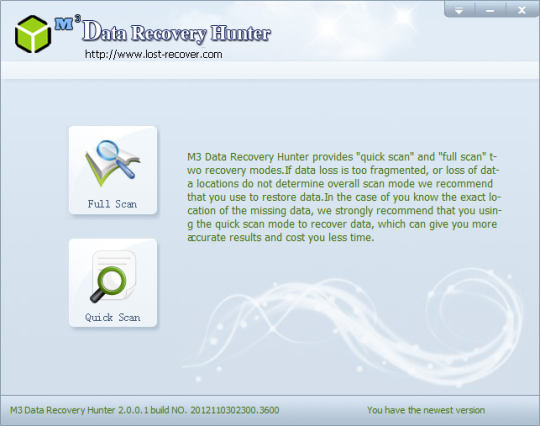 Download free M3 Data Recovery Hunter by M3 Technic v 3 0