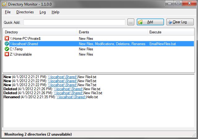 Directory Monitor x64