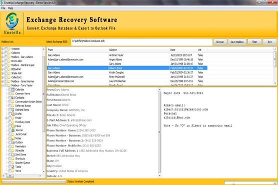 Exchange EDB Recovery Freeware