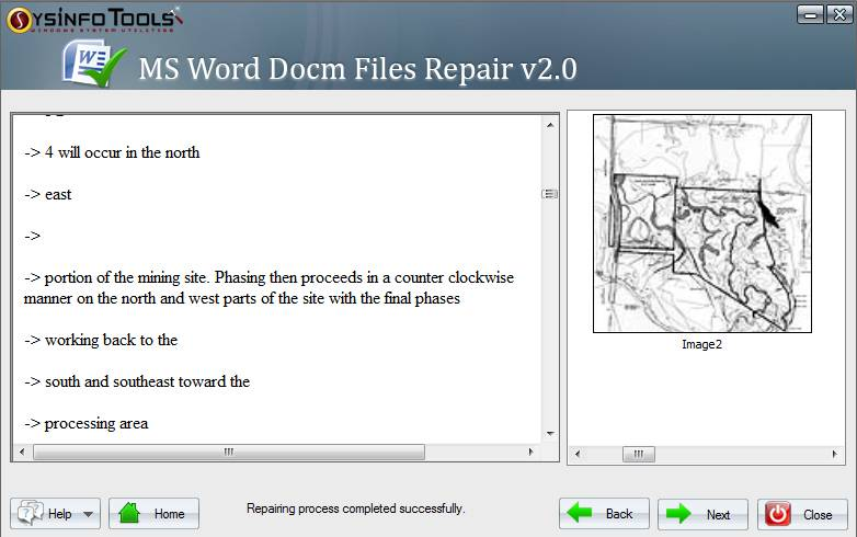 MS Word DOCM Recovery from SysInfoTools