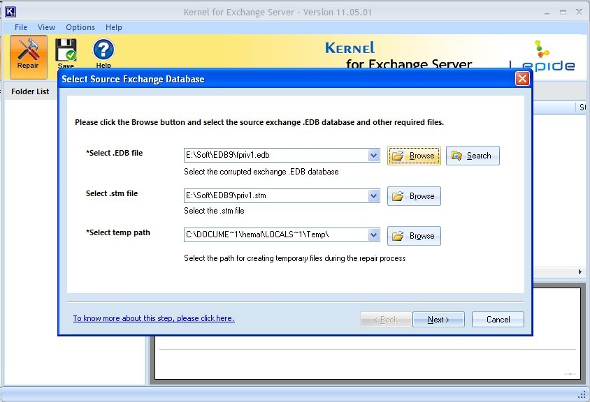 Exchange 2010 Database Recovery
