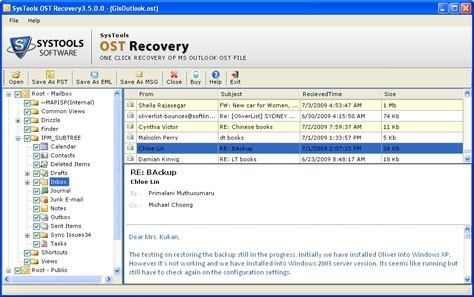 Corrupt OST File Recovery