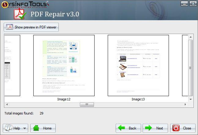 SysInfoTools PDF Repair Tool