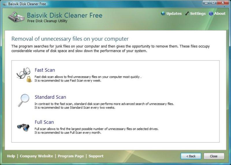 Baisvik Disk Cleaner Free