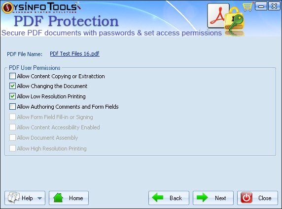 SysInfoTools PDF Protection