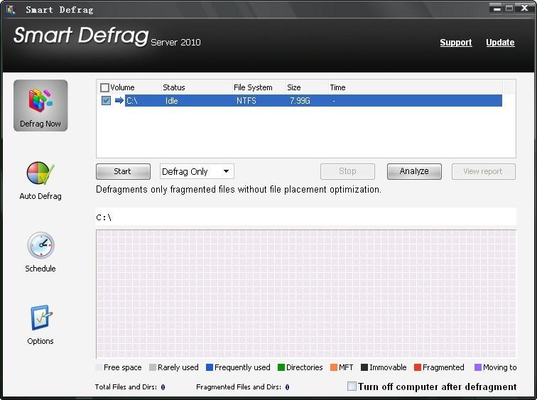 Smart Defrag Server 2010 Trial