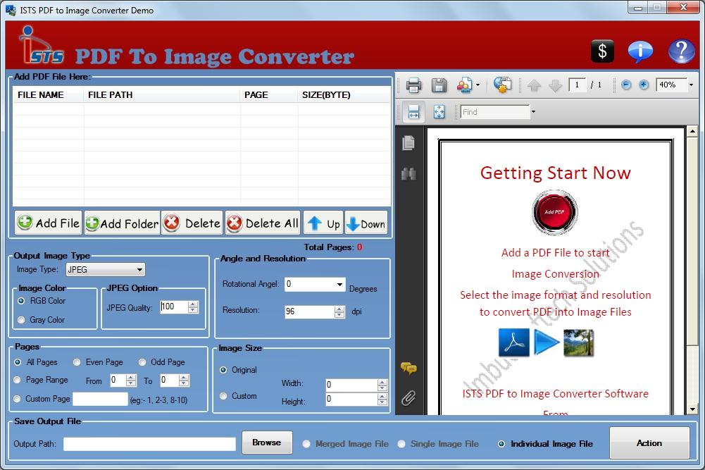 Creating Images From PDF