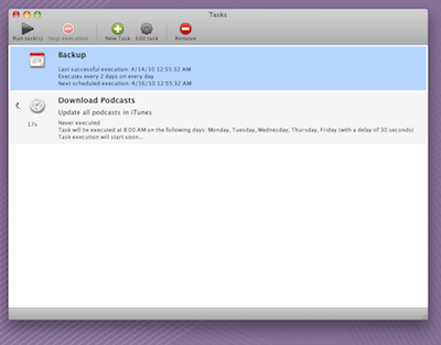 Task Till Dawn for Mac OS X