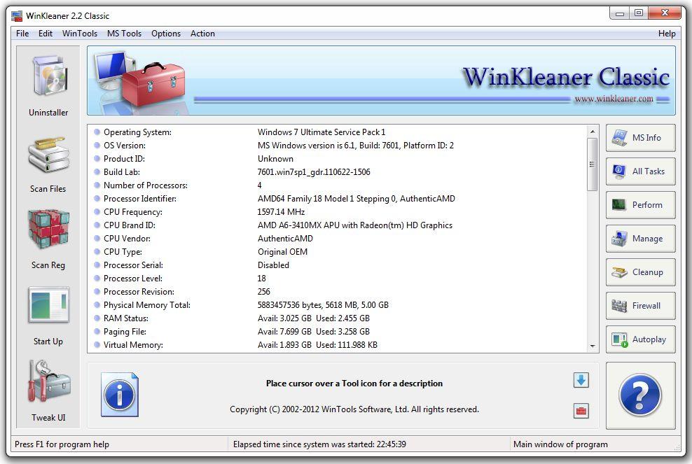 WinKleaner Classic