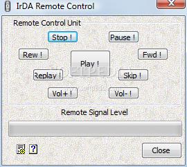 IrDA Remote Control Standard