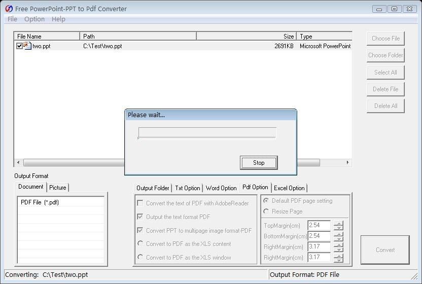 Free PowerPoint to Pdf Converter