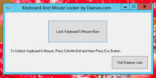 Keyboard & Mouse Locker
