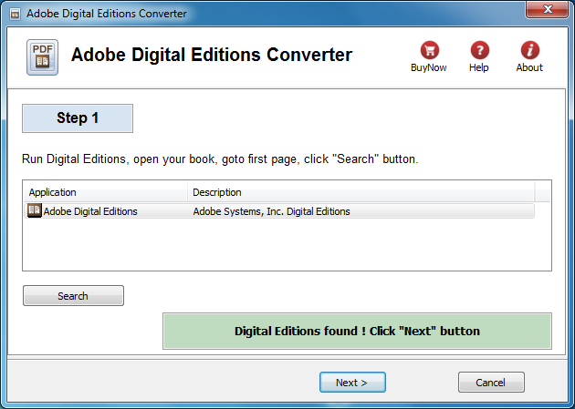 Adobe Digital Editions Converter for Mac OS X