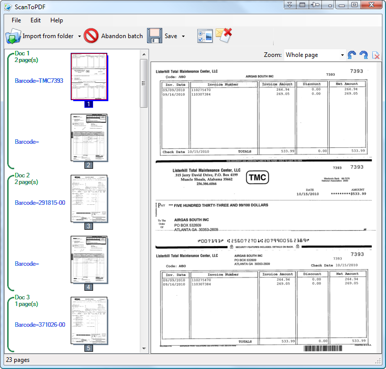 batch scanning free batch scanning software download With batch document scanning software