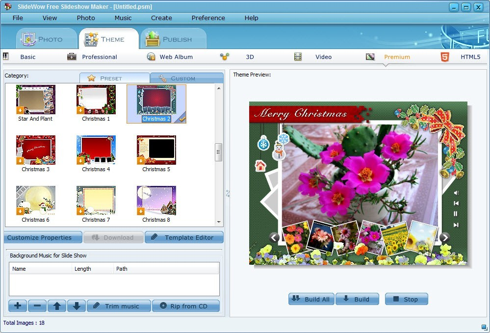 SlideWow Free Slideshow Maker