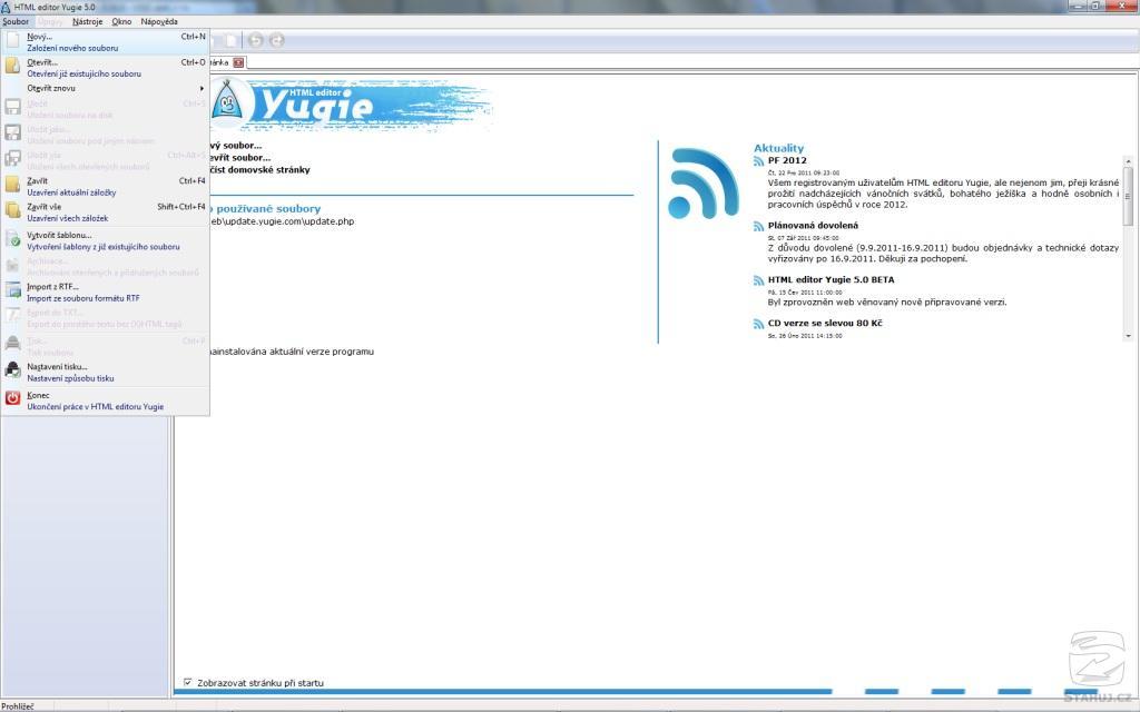 Yugie HTML editor
