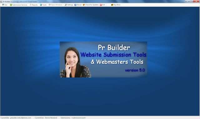 Pr Builder SEO and Webmasters tools