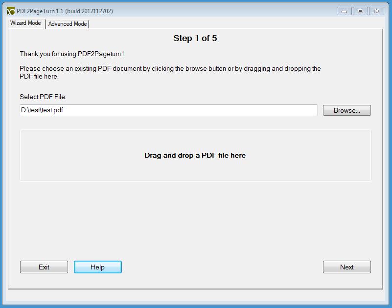 PDF2PageTurn