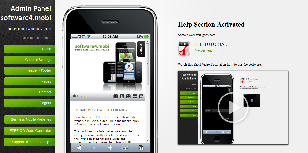 Mobile coupon creation software