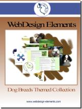 Dog Breed Web Elements