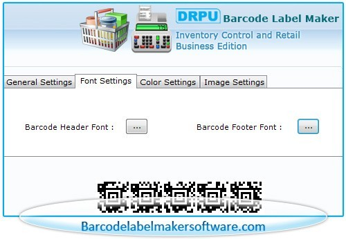 Barcode Label Maker for Retail