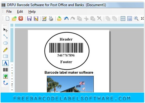 Courier Barcode Label Software