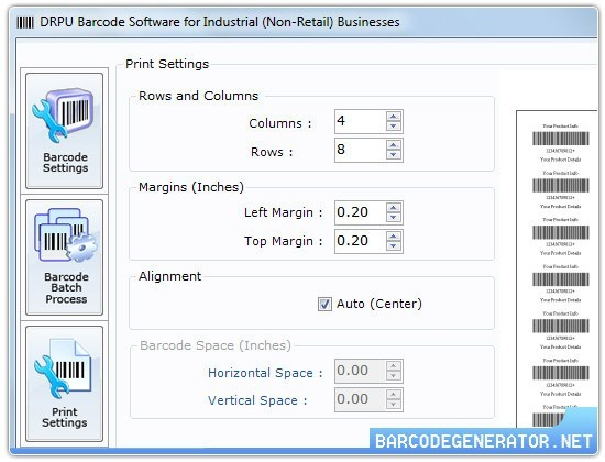 Barcode Generator Software for Industry