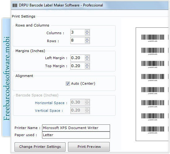 Free Barcode Software Download