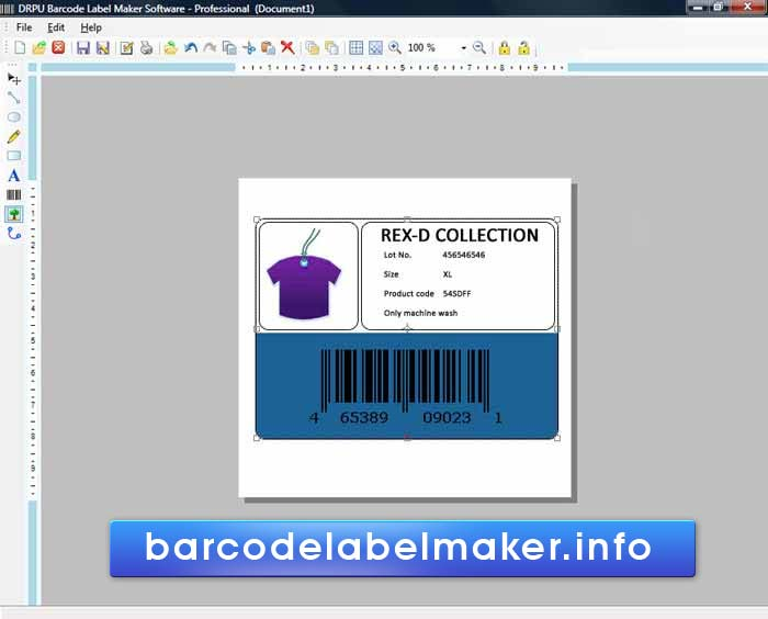 Professional Barcode Designing