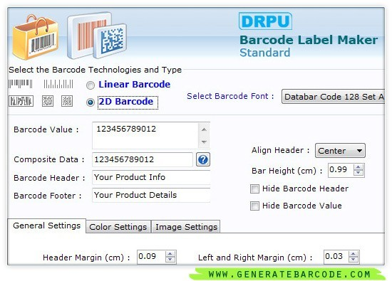 Generate Barcode Labels