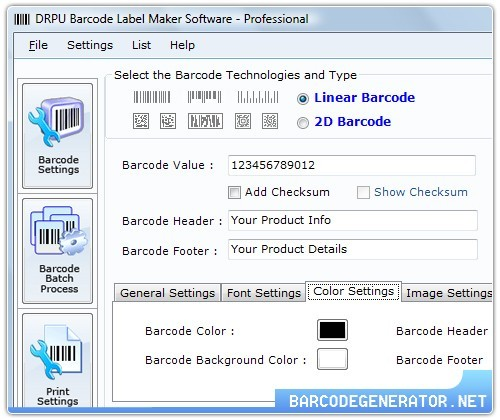 How to Operate Barcode Generator