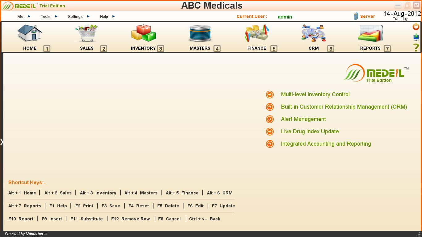 MEDEIL - Free Edition (Pharmacy Software)