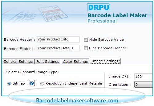 Barcode Label Maker Program