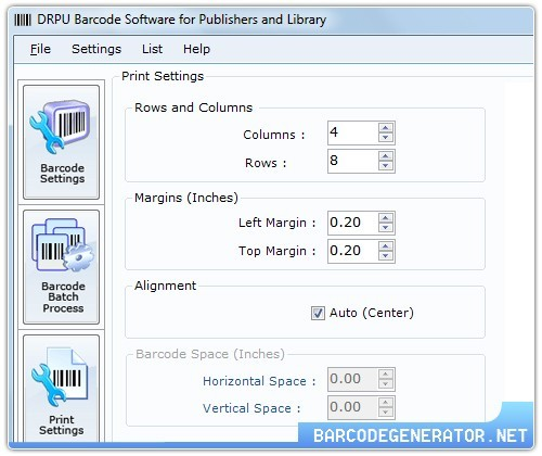 Publishing Industry Barcodes Generator
